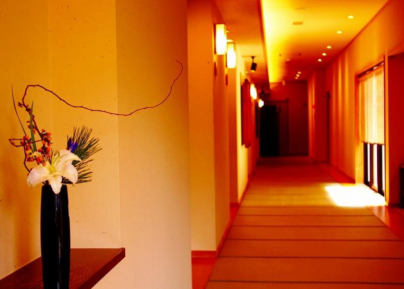 料亭廊下花